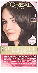 L'Oreal Paris Excellence Crème, Natural Black 3