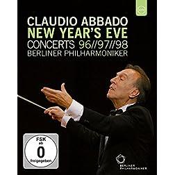 Claudio Abbado New Year's Eve Concerts Box [Blu-ray]