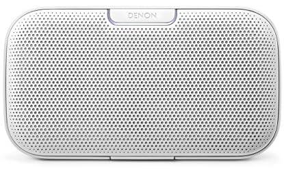 DENON DSB-200WTEM envayaポータブルスピーカー Bluetooth対応 ホワイト
