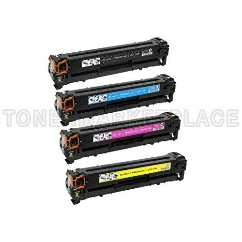 Inkuten © Set 4 Hp Laserjet Pro 300 Color Mfp M375Nw Compatible Toner Cartridges Combo Pack