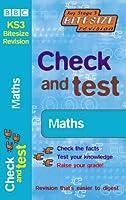 Check and Test Maths (KS3 Bitesize Revision)