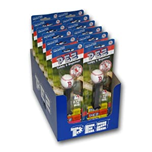 MLB Boston Red Sox Pez Candy Dispenser - 12 Pack by Pez Candy