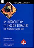 echange, troc Grellet /Valentin - An Introduction to English Litterature : From Philip Sidney to Graham Swift