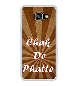 Chak De Phatte 2D Hard Polycarbonate Designer Back Case Cover for Samsung Galaxy A7 (2016) :: Samsung Galaxy A7 2016 Duos :: Samsung Galaxy A7 2016 A710F A710M A710FD A7100 A710Y :: Samsung Galaxy A7 A710 2016 Edition