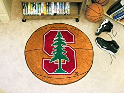 Stanford Cardinal 29&quot; Round Basketball Floor Mat (Rug)