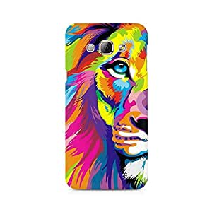 Ebby Colorful Lion Premium Printed Case For Samsung A3 2016