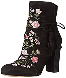 Sam Edelman Women\'s Winnie Boot, Black, 8 M US