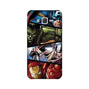 StyleO Samsung Galaxy J2 2015 Edition Designer Printed Case & Covers (Samsung Galaxy J2 2015 Edition Back Cover) - Avengers