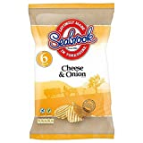 Seabrook Crinkle Cut Crisps - Cheese & Onion (6x25g)