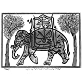 Elephant and Howah (V&A Custom Print)