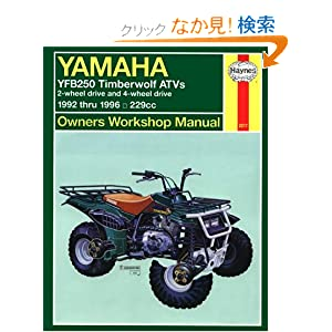 yamaha yfb250 timberwolf and timber wolf 4x4. Black Bedroom Furniture Sets. Home Design Ideas