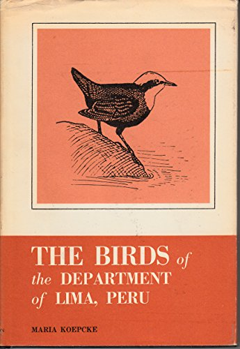 The Birds of the Department of Lima, Peru