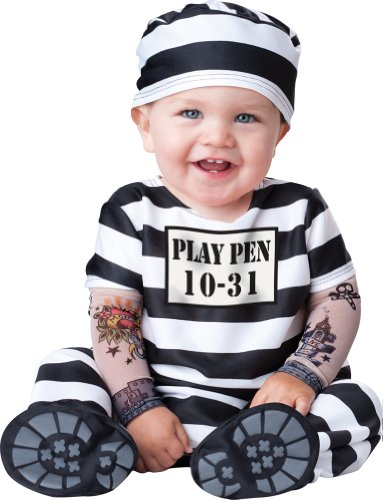 Incharacter Costumes, Llc Time Out, Black/White, Large front-990825