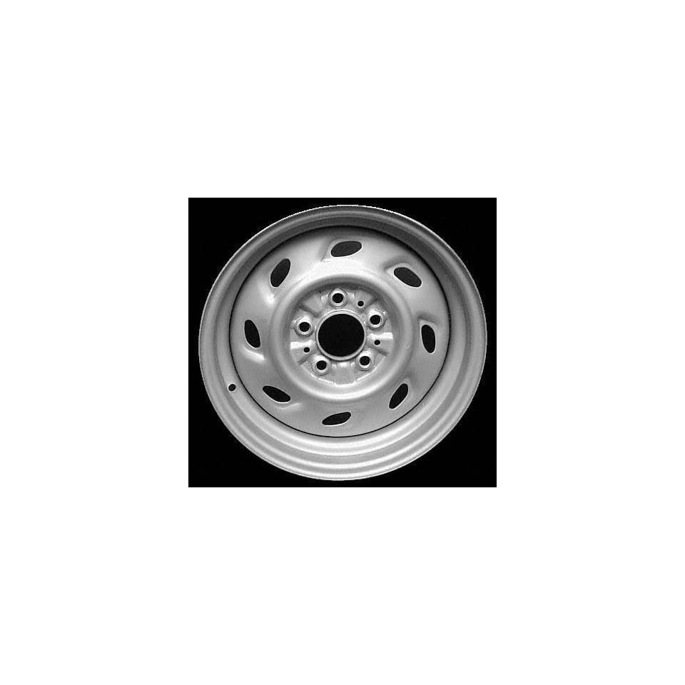 93 05 FORD RANGER STEEL WHEEL TRUCK, Diameter 15, Width 6, Lug 5 (8 OVALS), BLACK, 1 Piece Only, (center cap not included) (1993 93 1994 94 1995 95 1996 96 1997 97 1998 98 1999 99 2000 00 2001 01 2002