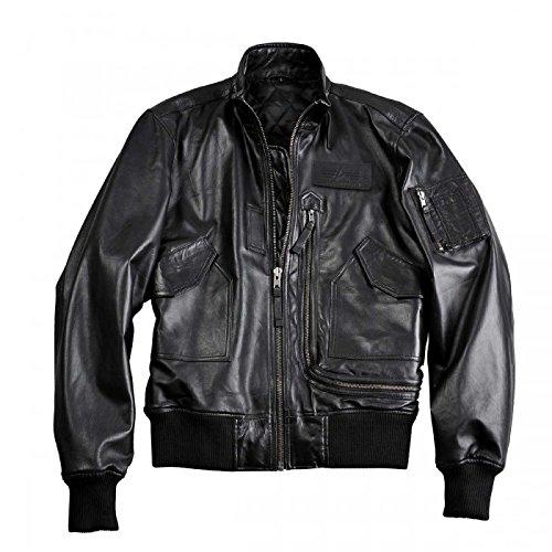Alpha Industries Engine Leather Jacket jetzt bestellen