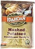 Idahoan Mashed Potatoes, Steakhouse Russets, 20 Ounce (Pack of 12)