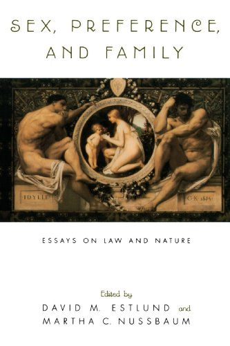 Sex, Preference, and Family: Essays on Law and Nature