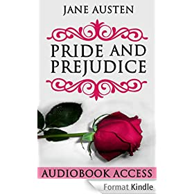 Pride and Prejudice (with Audiobook Access, Illustrated, Annotated) (English Edition)
