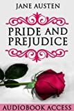 Image of Pride and Prejudice (with Audiobook Access, Illustrated, Annotated)