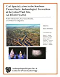 img - for Craft Specialization in the Southern Tucson Basin: Archaeological Excavations at the Julian Wash Site, AZ BB:13:17 (ASM) Part 1: Introduction, Excavation Results, and Artifact Investigations (Anthropological Papers No. 40) book / textbook / text book