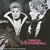 L'Art de Teresa Stich-Randall (Coffret 4 CD)par Anthony Bernard