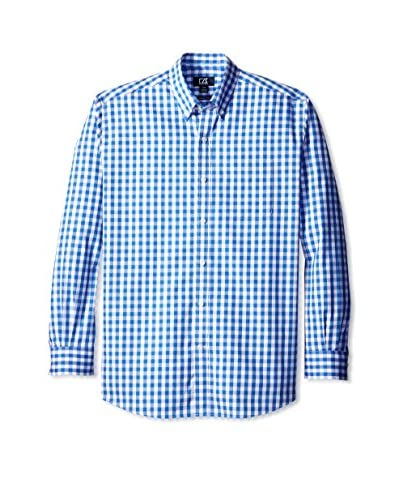 Cutter & Buck Men's Long Sleeve Waterfall Check Shirt