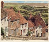 Portrait of Britain, Shaftesbury - Gold Hill, Dorset, Framed