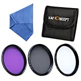 Filter 40.5mm K&F Concept® 40.5mm UV CPL FLD Filterset