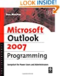Microsoft Outlook 2007 Programming: J...