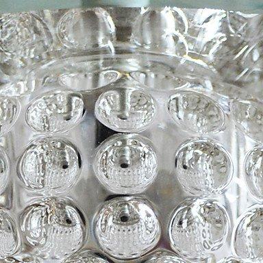moderne de cristal murale avec 1 lumiššre en rond