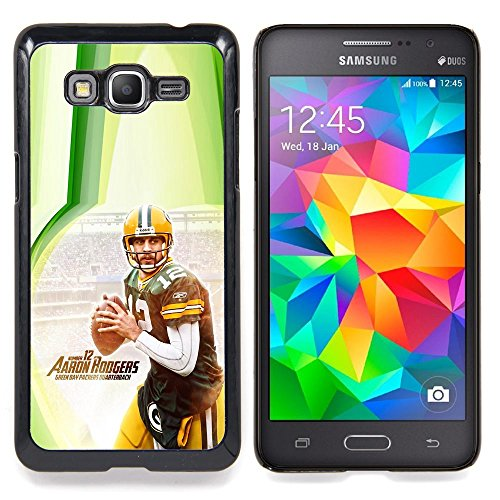 - Aaron Rodger 12 NFL - - Copertura della cassa impatto con Art Pattern Design FOR Samsung Galaxy Grand Prime G530H G5308 Queen Pattern