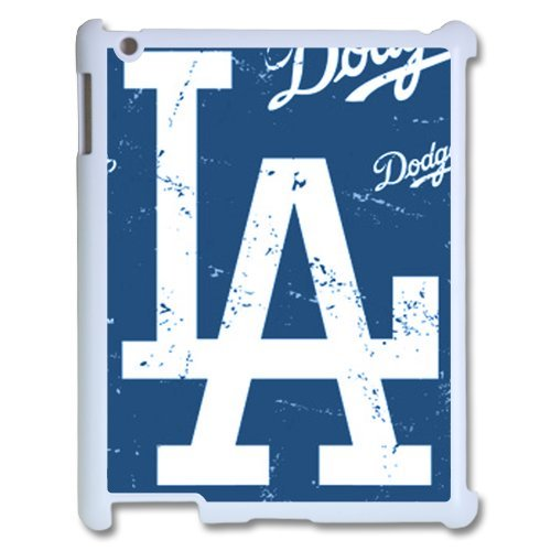 Generic Cell Phone Cases Cover For Apple Ipad 3 Case Ipad 2 4 Case Fashionable Designed With Baseball Team Los Angeles Angels Background Personalized Case front-925105