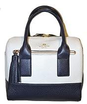 Kate Spade Southport Avenue Alessa Cream Midnight Handbag