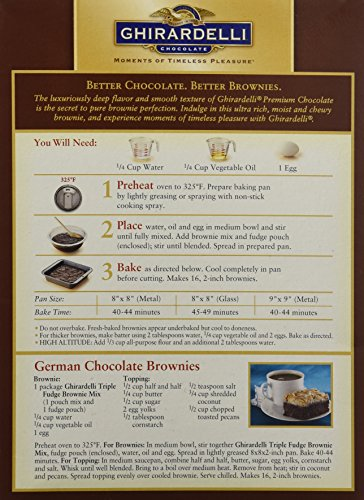 Ghirardelli Cake Mix Instructions