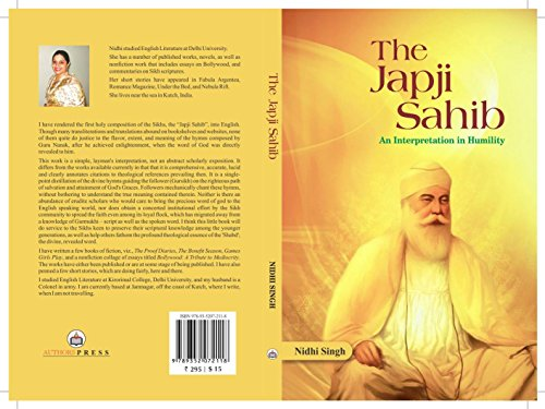 Japji Sahib: An Interpretation in Humility, by NIDHI SINGH
