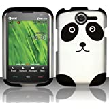 Panda Hard Case Snap On Rubberized Cover For Pantech Renue P6030 AT&T
