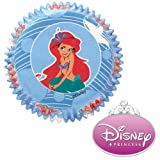 Wilton Baking Cups - Disney Princess Ariel - Package of 50 - We Ship Within 1 Business Day w/ *FREE Standard Shipping!