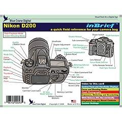 Nikon D200 inBrief Laminated Reference Card (9781934148037)