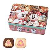 11/1~ ディズニー クリスマス 2016 缶入り クッキー (雪だるま) お菓子 お土産 ミッキー ミニー マウス ( ディズニーリゾート限定 )