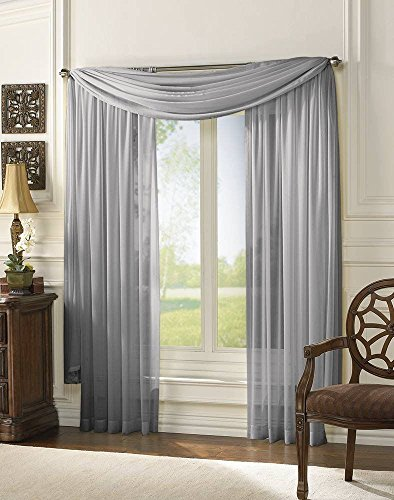 empire-home-solid-sheer-voile-scarf-valance-216-long-window-scarves-37-x-216-color-silver