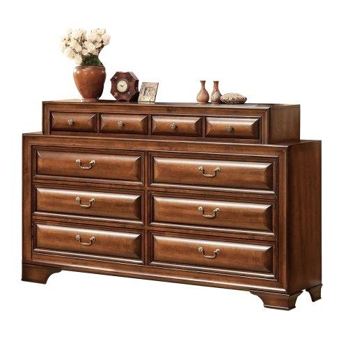 Acme 20458 Konane Dresser, Brown Cherry Finish front-1011588