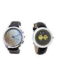 Foster's Men's Multicolour Dial & Foster's Women's Grey Dial Analog Watch Combo_ADCOMB0002359