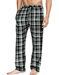 Hanes Mens Cotton Flannel Lounge Paja…