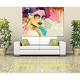 Canvas Abstract Art Digital Print, Portrait, Abstract Art, Wall Hanging , Gift Ideas, Modern Art (36X24 INCH) - B00X1J6EKW