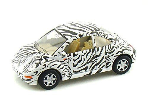 VW New Beetle 1/32 Zebra - Kinsmart Diecast Models