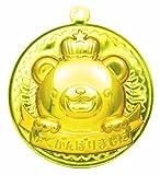 ゴールド・3Dメダル クマ