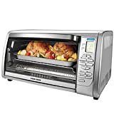 BLACK+DECKER CTO6335S Stainless Steel Countertop Convection Oven, Silver