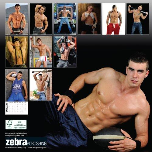 Fit Men 2014 Calendar