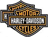 Harley Davidson Bar and Shield Car Truck SUV Floor Utility Mats - One Pair
