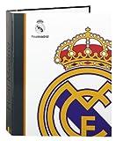 Real Madrid - Carpeta anillas folio, diseño Classic (Safta 511424657)